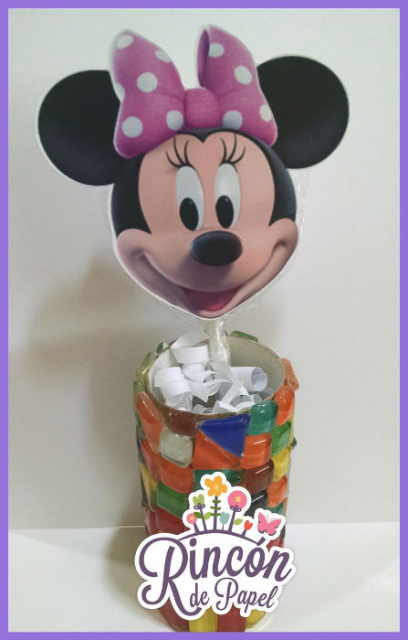 Paleta invitacion minnie 2