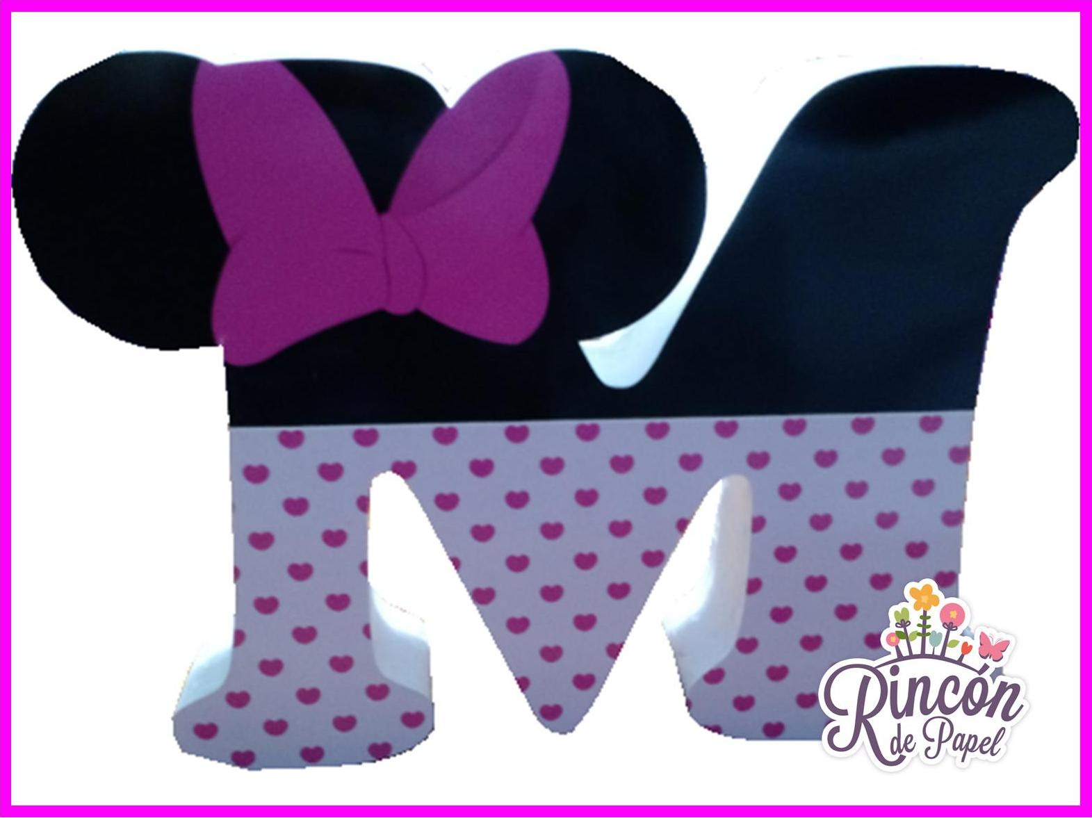 LETRAS MINNIE